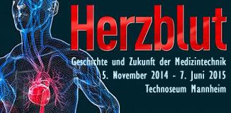Herzblut -Ausstellung im Technoseum Mannheim