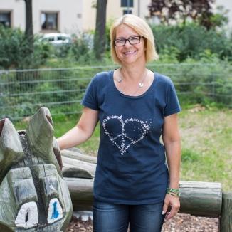 Spielplatz-Patin Stefanie Büttner