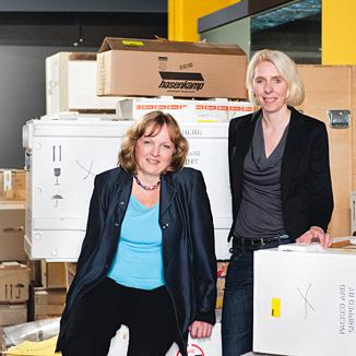 Gabriele Pieke und Maria Schmitt
