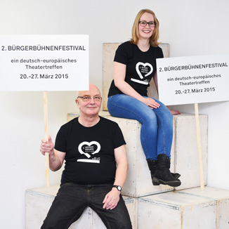 Johanna Hosenfeld und Michael Bauer
