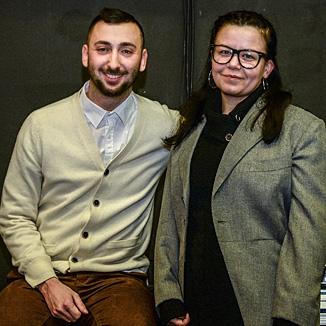 Ena Adamaralovic und Burak Tuncel