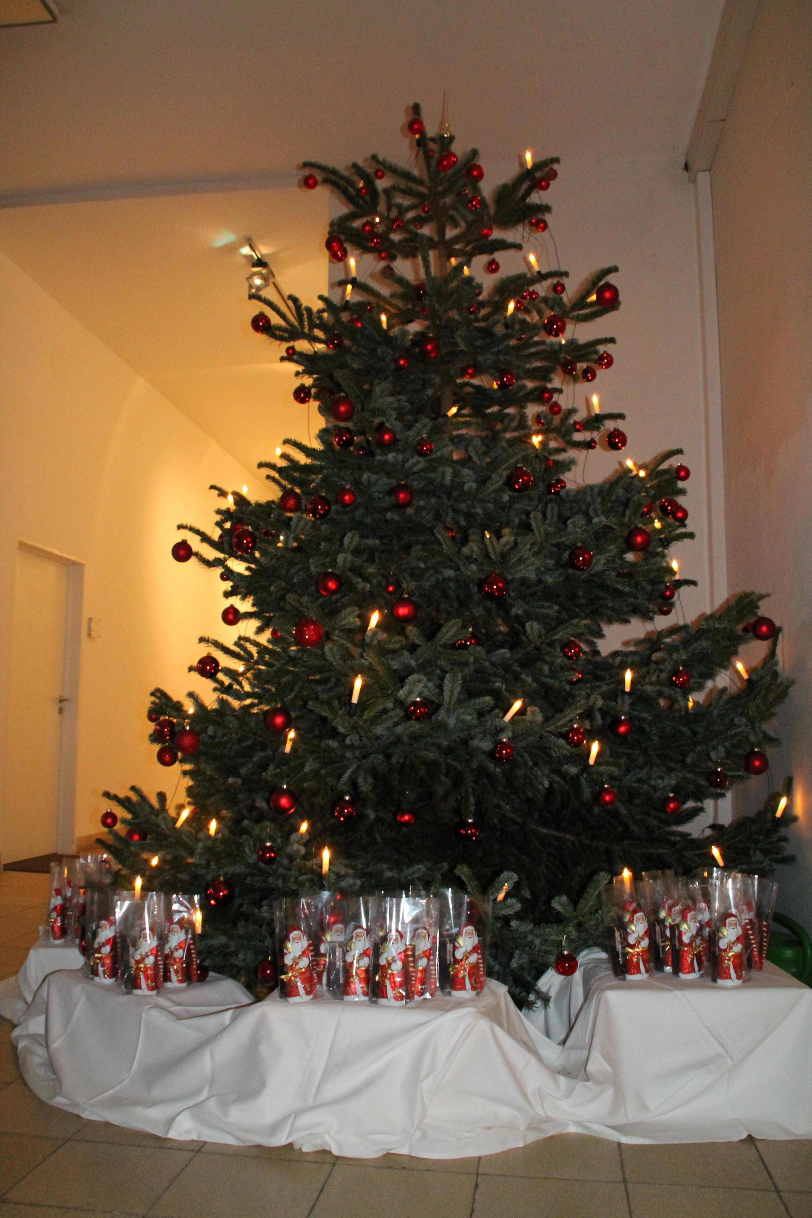 Flüchtlinge Weihnachtsbaum