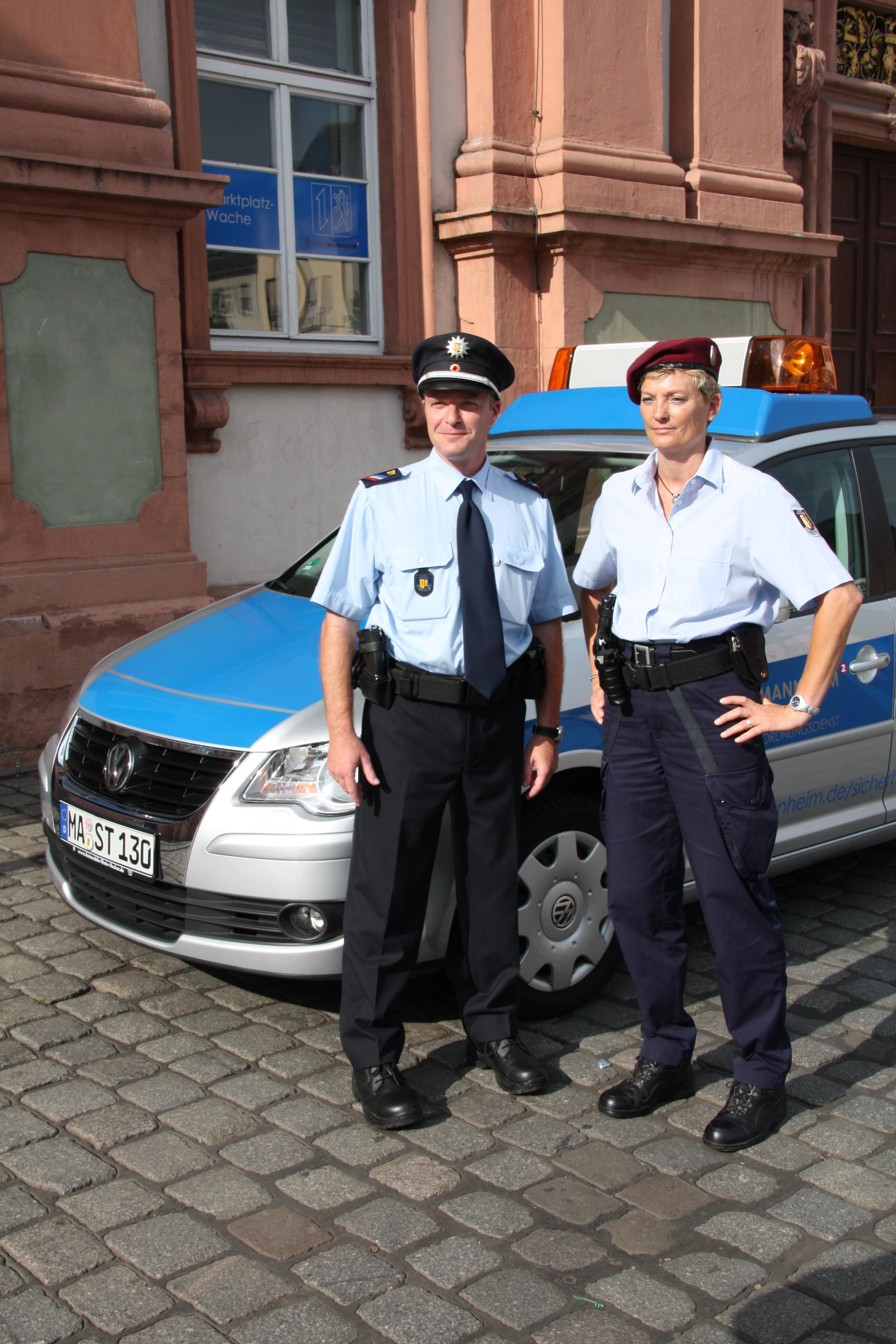 KOD-Mitarbeiter bringen Ladendieb zur Polizei   Mannheim.de