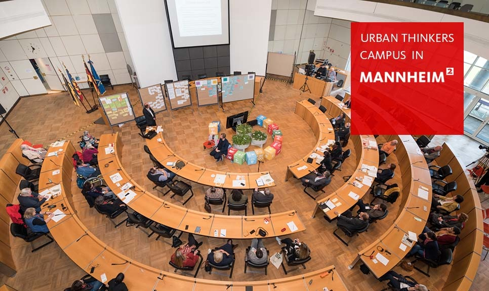 "Development of the ""Mannheim 2030"" model successfully started with Urban Thinkers Campus"