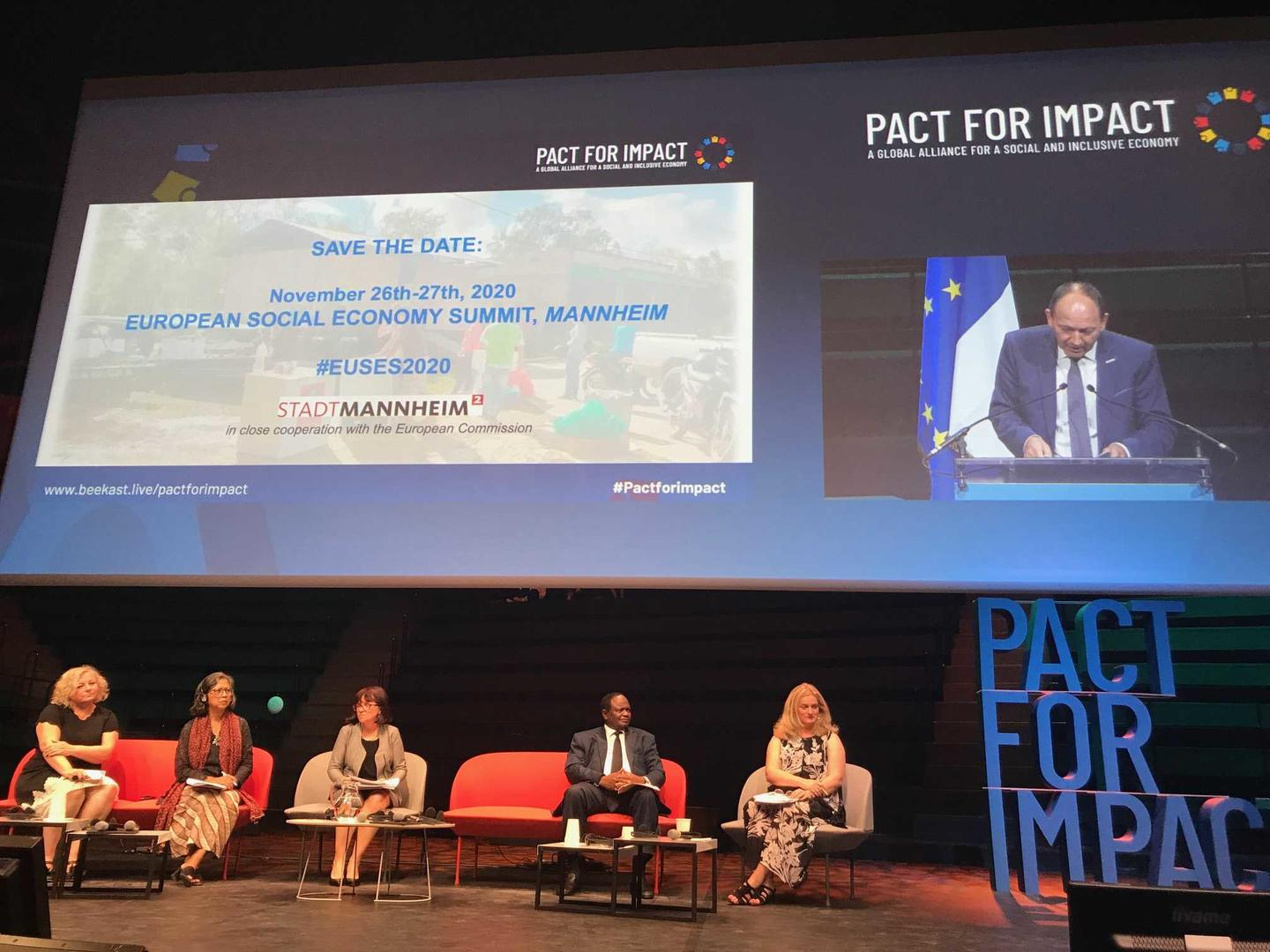 EBM Specht bei Pact for Impact