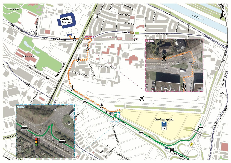 Parkmöglichkeiten Mannheim