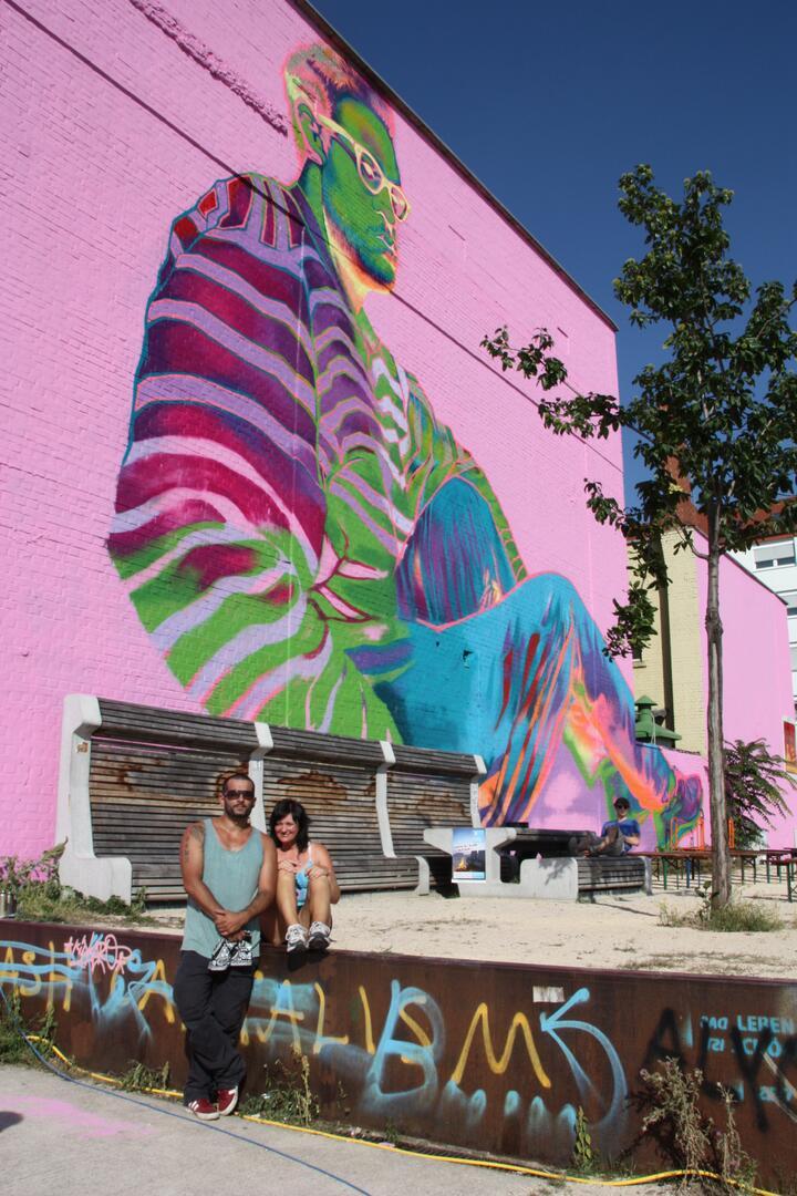 Künstler Mannheim sommerfest mannheimer modell streetart künstler gonzalo maldonado