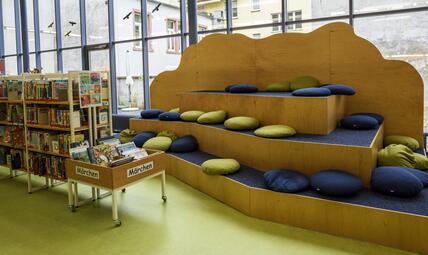kinder und jugendbibliothek im dalberghaus. Black Bedroom Furniture Sets. Home Design Ideas