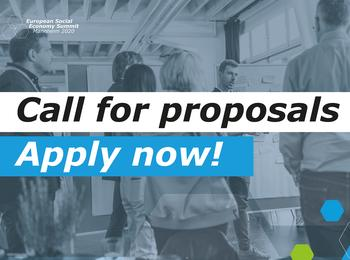 European Social Economy Summit 2020 - Call for Proposals